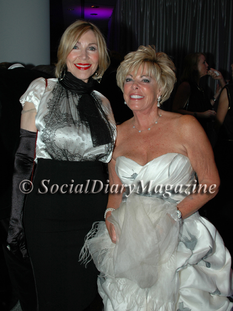 Linda Swortwood and Judy Ferrero