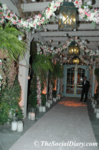 candlelight ball entrance