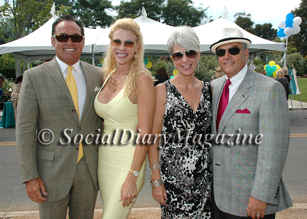 Jim and Tiffany Mahoney with Jeanne and Ray Lucia
