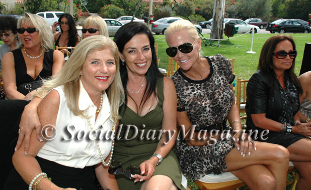 Cynthia Vassallo with Deborah Marengo and Lee Posnock