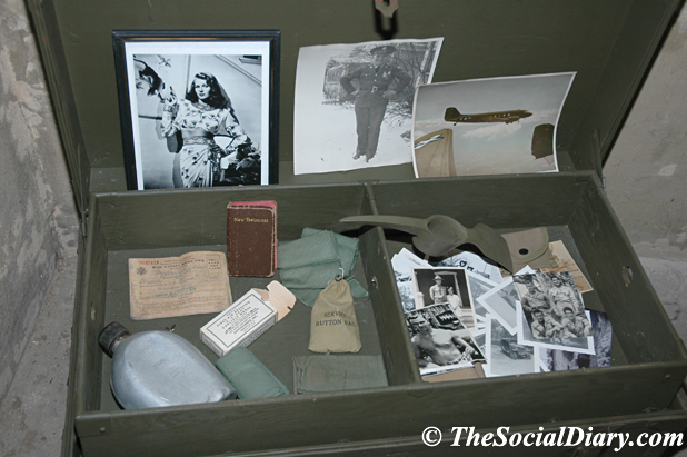 Magazines etc. in the World War II bunker