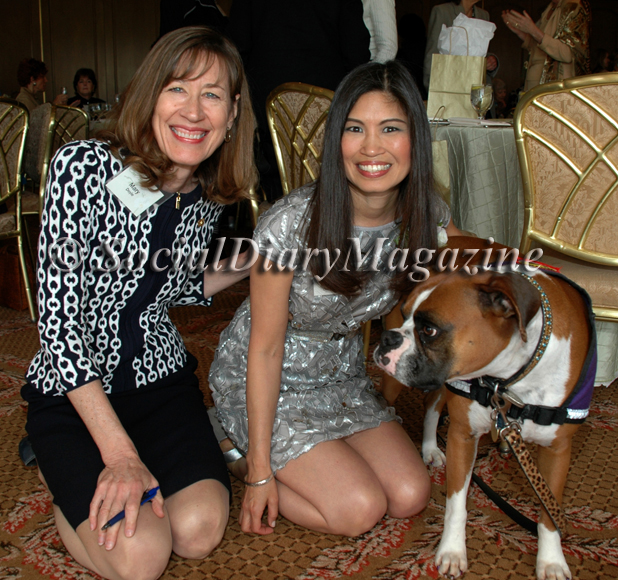Mary Doyle with Lori Walton and Kima at the 2011 Cool Women Girl Scouts event