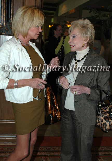Sandy Redman and Lee Goldberg at the Girl Scout's Cool Women 2011 luncheon