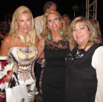 Madeleine Pickens with Christine Penrod and May Zawaideh