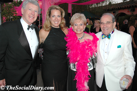 harry and teresa hixson with lee and frank goldberg