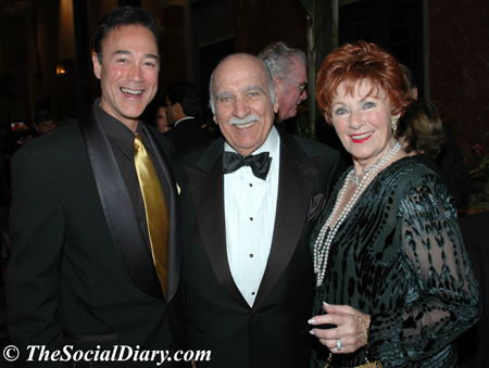scott johnston with paul michael and marion ross