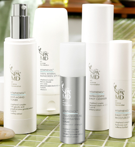 vitaphenol skin care line available at La Jolla Spa-MD