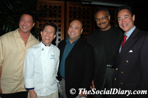 martin yan with scott johnston and friends