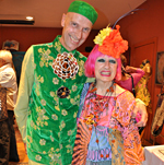 Andrew Logan and Zandra Rhodes 2011