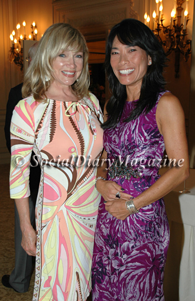 Lynda Kerr in Pucci with Jennifer Greenfield