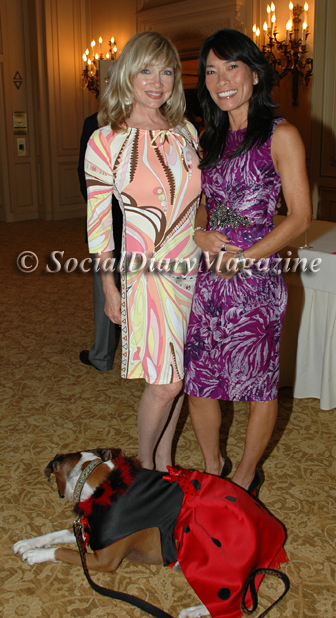 Lynda Kerr and Jennifer Greenfield with Kima